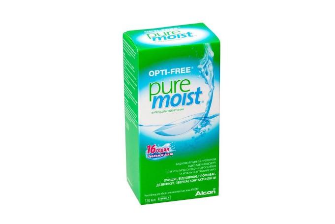 Раствор для линз Alcon Opti Free PureMoist