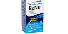 Увлажняющие капли Renu Multiplus